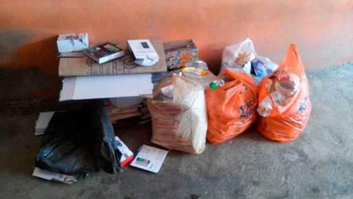 El Seminario lleno de basura por servicio irregular de limpia