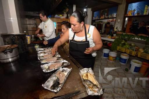 Abrió al público la Feria de la Trucha en La Marquesa