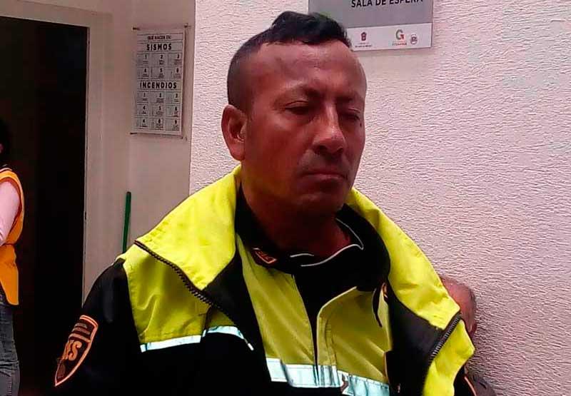 Este es el policía que presuntamente agredió a la reportera del diario Reforma.