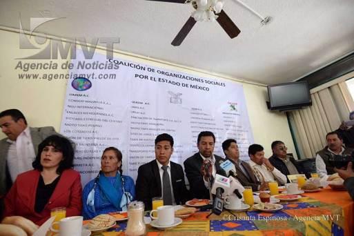 Firman organizaciones civiles Alianza por el Estado de México