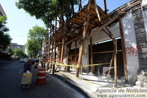 Casas se caen de viejas en Toluca y el INAH no permite derribarlas para evitar riesgos