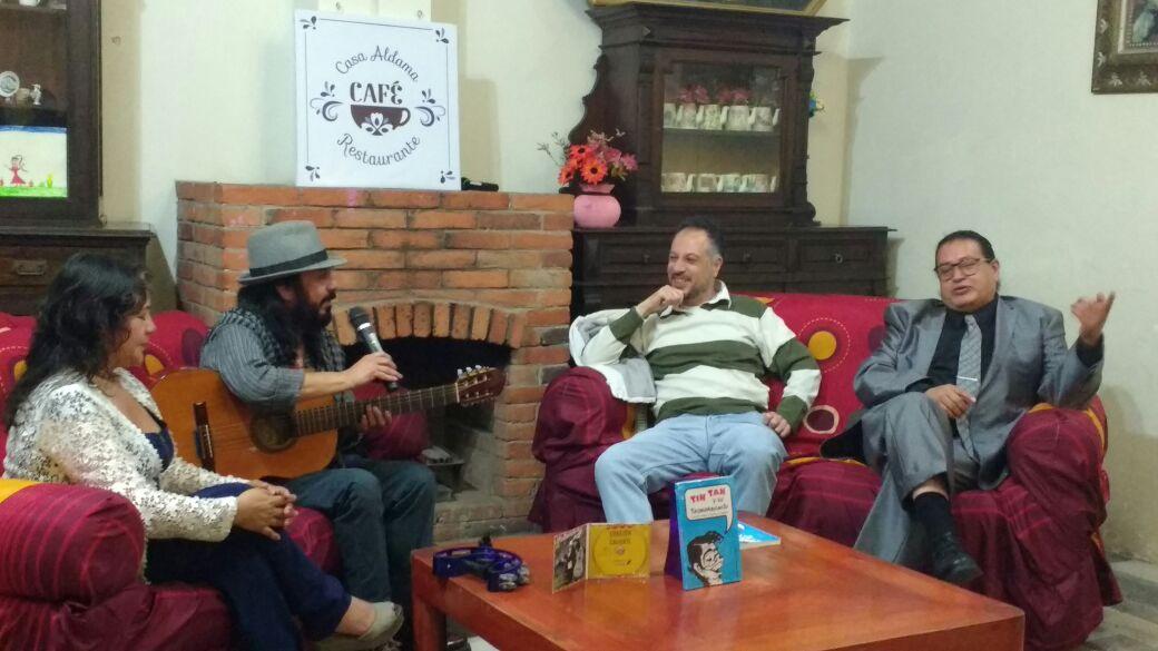 Presentan el libro tin tan y su trompabulario en honor al Noticias del espectaculo mexicano